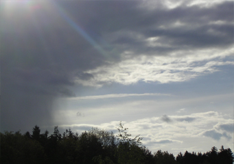 Altostratus Virga